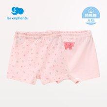 丽婴房婴儿衣服 男女宝宝小童儿童平角裤内裤2条装 2017春新品