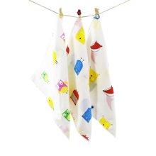 Marvelous Kids 嬰幼兒精梳棉精靈系列雙面印花4層方巾口水巾喂奶巾一巾多用