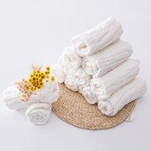 【国庆黄金周 99选3】Marvelous kids十二层婴儿纯棉纱布尿布5条装送尿布扣
