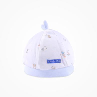 丑丑婴幼 新款四季新生儿纯棉帽子0-3个月男女宝宝胎帽16*17CM  CNA501X