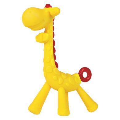 mdb长颈鹿牙胶磨牙棒婴儿玩具硅胶牙咬胶可水煮宝宝防吃手神器0-1-MDB-GBG