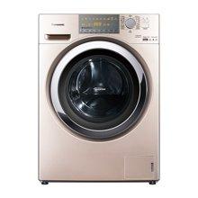 Panasonic/松下 松下洗衣机 XQG100-EG12N 10公斤 95度高温除菌 双极除螨虫技术 香槟色洗烘一体机