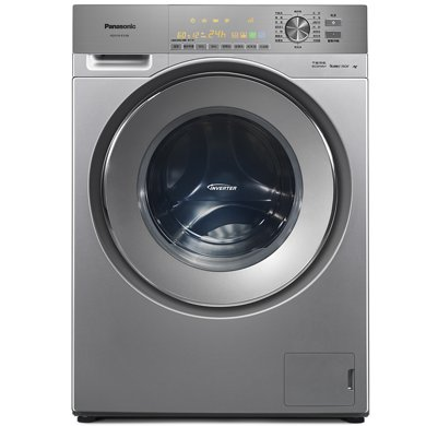 Panasonic 松下 羅密歐10kg全自動超大容量家用變頻滾筒洗衣機XQG100-E1028