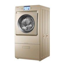 卡萨帝XQGH100-HBF1427/W杀菌烘干智能投放滚筒洗衣机 金色XQGH100-HBF1427