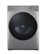 Panasonic 松下 10公斤带WIFi全自动变频滚筒洗衣机智能APP操作XQG100-S1355