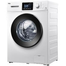 TCL 9公斤 全自动变频滚筒洗衣机 大8公斤中途添衣家用静音 XQG90-P320B