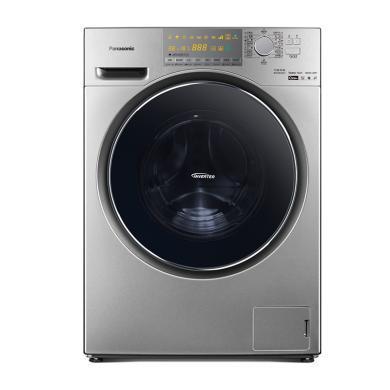 Panasonic ?#19978;?滚筒洗衣机XQG90-EG93T 9公斤除螨带烘干变频深银色