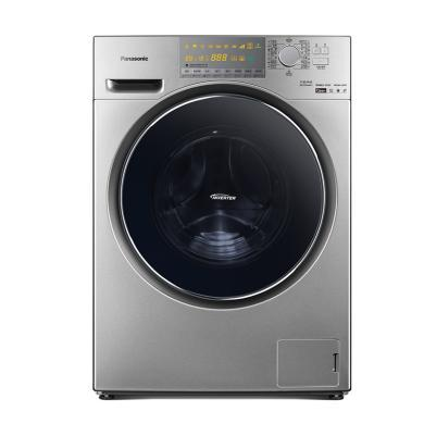 Panasonic 松下 滾筒洗衣機XQG100-EG13T 10公斤除螨帶烘干變頻 深銀色