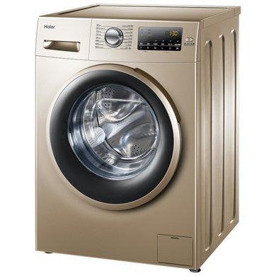 Haier/海爾 EG10014B39GU1 10公斤kg智能變頻滾筒全自動洗衣機 ABT自清潔 鉑鐏金外觀 特色消毒洗