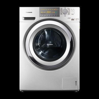 松下(Panasonic) XQG90-EG92T 9公斤 變頻 冷凝式烘干高溫除菌洗烘一體滾筒洗衣機(深銀色)