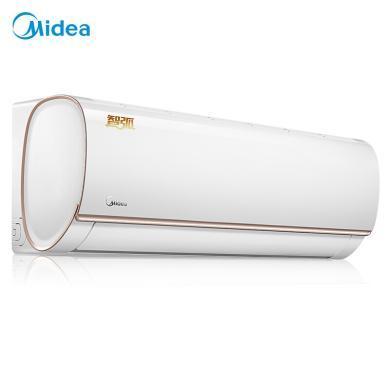 美的(Midea) 變頻空調掛機 壁掛式臥室冷暖空調 云智能控制 舒適靜音 智弧大1匹KFR-26GW/WDBN8A3@