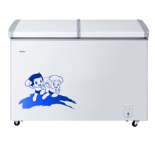 海尔(Haier)BC/BD-273SEA  273升冷柜 蝶形门 侧掀门 单箱变温冰柜 家用商用二合一 卧式冰箱