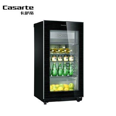 卡薩帝(Casarte) 冰吧酒柜冷藏柜冷柜120升家用恒溫保濕 黑色 LC-120K