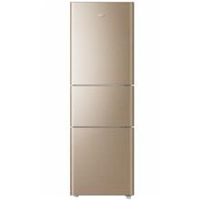 海尔(Haier) BCD-206STPP 206升三门 家用冰箱 金色