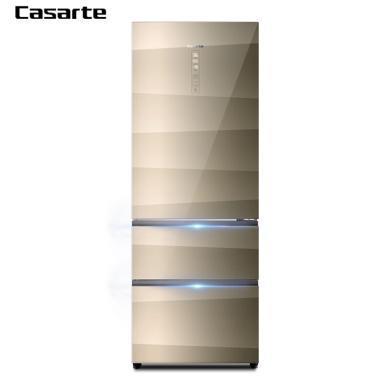 卡�_帝(Casarte) BCD-445WDCA 445升干�穹���L冷�o霜 ��l�L冷�o霜多�T冰箱