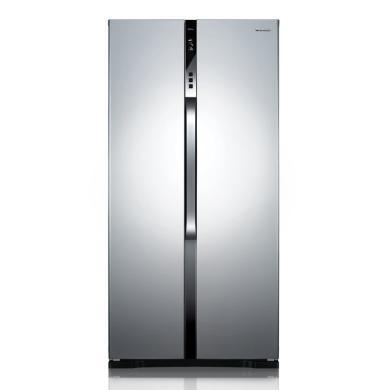 Panasonic/松下 NR-W56S1雙開門風冷無霜對開門家用變頻大電冰箱570L