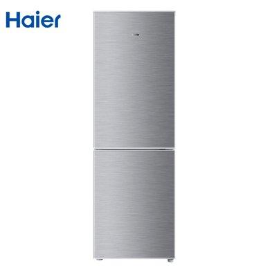 海尔(haier)BCD-185TMPQ 185升小?#22270;?#29992;双门冰箱 银色