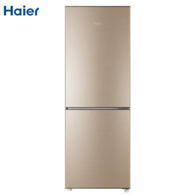 Haier/海尔冰箱180升双门直冷冰箱 经济型冷藏冷冻 家用电冰箱 抗菌板材 深冷速冻BCD-180TMPS