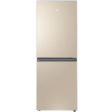 TCL 170升 �L冷�o霜�p�T�冰箱 ��X控�� �蛄髦评洳伙L干(流光金) BCD-170WF2