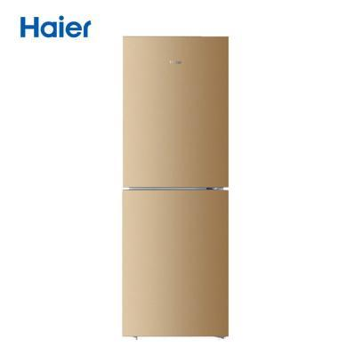 海爾(Haier)雙門兩門電冰箱風冷無霜節能靜音家用凈味除味金色BCD-221WDPT
