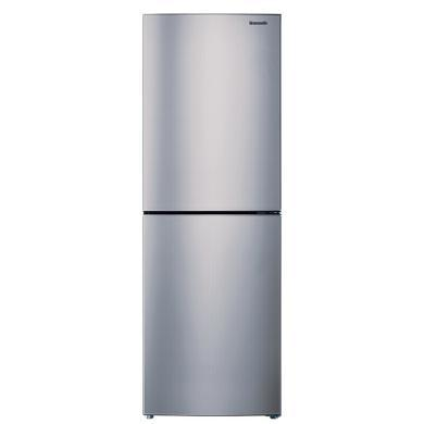 松下(Panasonic)240升雙門風冷無霜冰箱除菌除味節能靜音 NR-EB24WSP-S 銀色