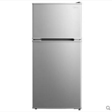 美的冰箱小冰箱小型電冰箱家用雙門節能冷凍冷藏靜音BCD-112CM