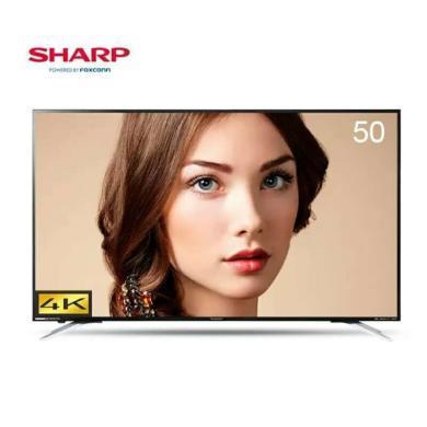 夏普(SHARP)LCD-50TX6100A 50英寸4K超高清超薄人工智能网络液晶平板电视机2G+32G