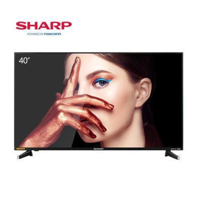 夏普(SHARP)F40YP1 40英寸日本原裝進口屏 1080P全高清WIFI液晶智能平板電視機
