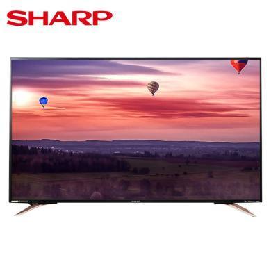 夏普(SHARP ) LCD-60SU570A 60英寸 4K超高清廣色域智能網絡液晶平板電視 黑色
