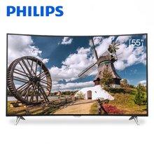 飛利浦(PHILIPS)55PUF6301/T3 55英寸 4K超高清曲面智能液晶電視機