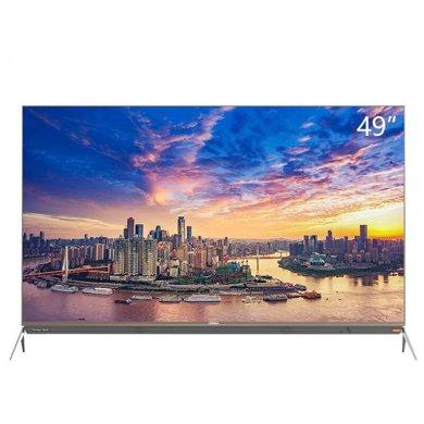 康佳(KONKA) LED49R1 49英寸4K超高清HDR變頻智能液晶電視機摩卡金