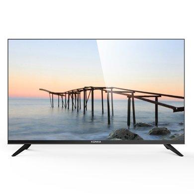 康佳(KONKA) LED40F1000  40英寸 窄邊臥室用高清液晶平板電視機 僅支持有線連接