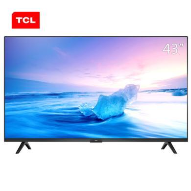 TCL 43L2F 43英寸全高清FHD智能电视机 (黑色)