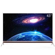 康佳(KONKA) LED43K1000A 43英寸 全高清 智能電視 12核 黑色
