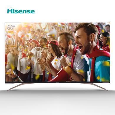 海信(Hisense)60英寸 4K超高清 ULED超薄人工智能液晶平板電視 全面屏 HZ60U7A