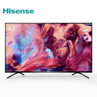 海信(Hisense)4K超高清人工智能網絡液晶平板電視機43英寸臥室客廳精選 HZ43A55