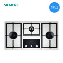 西门子(SIEMENS)燃气灶 ER45K155MP嵌入式燃气灶 不锈钢三眼灶