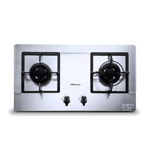 万和/Vanward 燃气灶 C3B12X 嵌入式燃气灶双灶天然气 液化煤气灶具炉(带绿标)