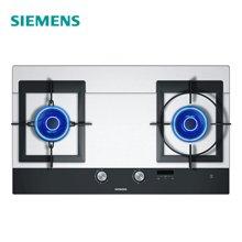 西门子(SIEMENS) 燃气灶 ER76K252MP 嵌入式天然气灶台灶具联动玻璃面板