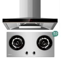 康宝AT9007+A101 新款超大吸力带自动热干洗烟机+新款4.5大火力三防不锈钢面板燃气灶煤气炉煤气灶两件套