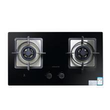万和/Vanward 燃气灶C3-L16Z燃气灶具台式嵌入式两用双眼黑色时尚防爆玻璃面板