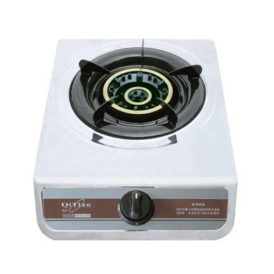 奇田(Qitian) JZY-A7-C 臺式不銹鋼單灶燃氣灶