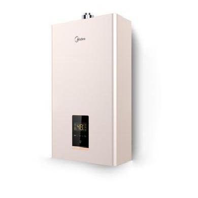 美的平衡式燃氣熱水器JSG20-10HC5(T)平衡式燃氣熱水器玫瑰金