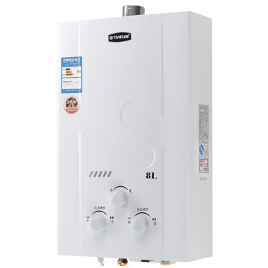 奇田(Qitian)JSQ16-8A(05)銅水箱 燃氣熱水器 強排式熱水器 8L熱水器