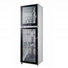 【食品级内胆】【不带臭氧味】【负离子杀菌】康宝立式消毒柜ZTP168K-1U大容量消毒柜