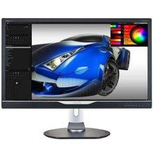 飛利浦(PHILIPS)288P6LJEB 28英寸寬屏 帶LED背光源的4K 高清顯示器