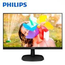 飞利浦(PHILIPS)23.8英寸 AH-IPS屏 原厂LGD IPS面板 广视角 低蓝光爱眼不闪 电脑液晶显示器243V7QDSB