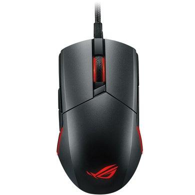 华硕(ASUS)ROG Pugio P503 玩家国度 RGB灯效 轻松换微动 电竞鼠标 游戏鼠标 黑色 绝地求生鼠标 吃鸡鼠标