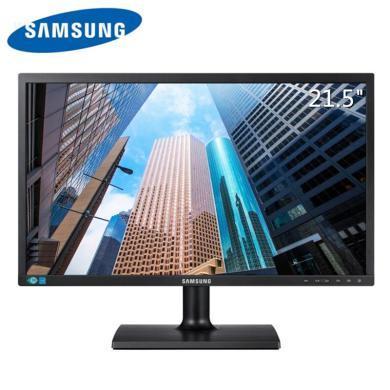三星(SAMSUNG) S22E200B 21.5英寸LED液晶商用顯示器 組裝機電腦屏幕 支持壁掛