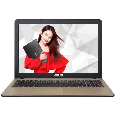 華碩(ASUS) X540 15.6英寸筆記本電腦(四核 N3450 4G 128GB 2G獨顯 win10)高清屏版